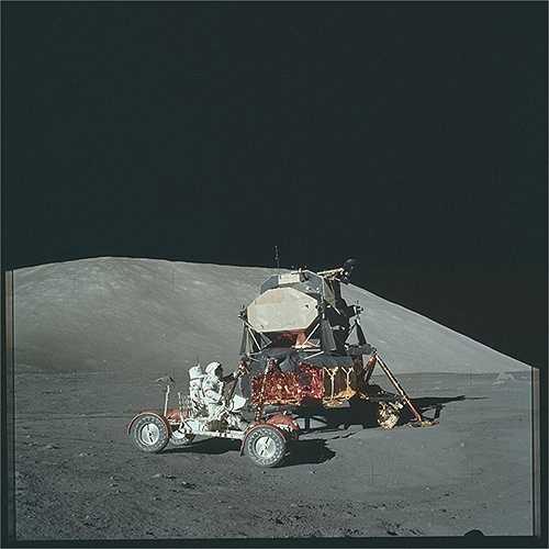 Chuyến tàu Apollo 14 làm nhiệm vụ từ 31/1//1971 tới 9/2/1971. (Nguồn: Sputniknews)