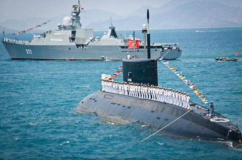 Trạng mạng Trung Quốc đánh giá cao khả năng tác chiến liên hợp của hải quân Việt Nam