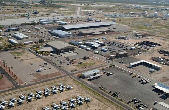 Hàng ngàn chiếc máy bay đã 'hết hạn sử dụng' được tập kết ở đây