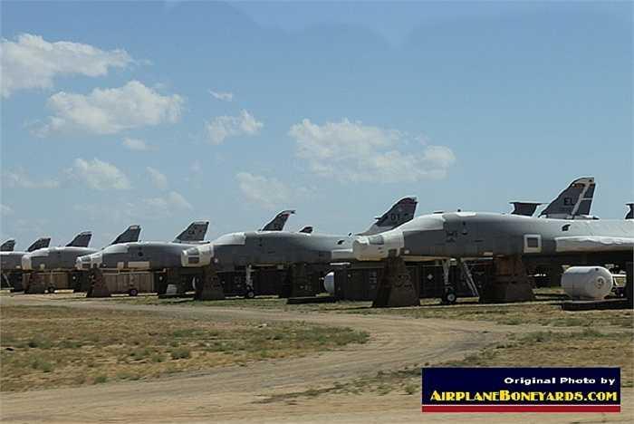 Máy bay ném bom chiến lược B-1B Lancer của Không quân Mỹ