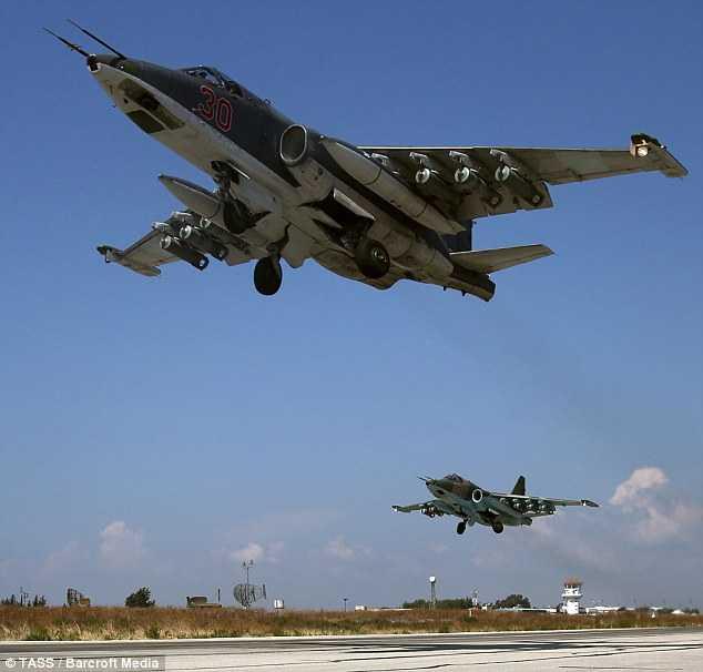 Chiến cơ Nga làm nhiệm vụ không kích IS ở Syria