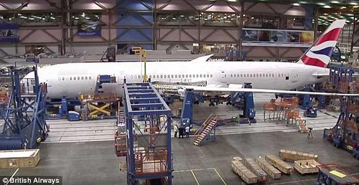 Chiếc Boeing 787-9 Dreamliner của British Airways