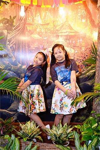 Hai cô công chúa xinh đẹp của Thúy Hạnh.