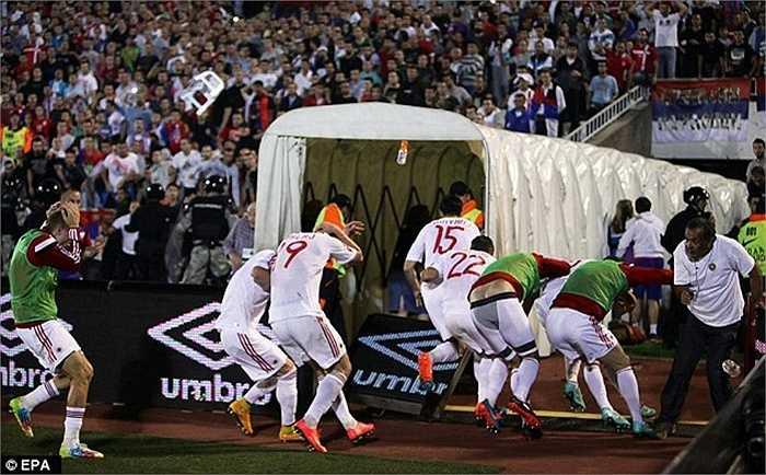 Mối quan hệ giữa Serbia và Albania lại tiếp tục leo thang căng thẳng ở trận lượt về sẽ diễn ra vào đêm nay