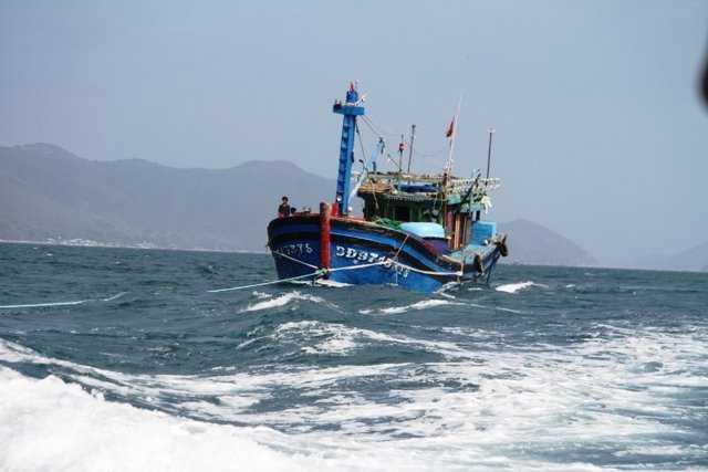 5 tàu cá của ngư dân Cà Mau bị nước bạn bắt giữ từ 11.9 (ảnh minh họa: Dương Thanh)