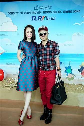 Trang phục của Angela Phương Trinh cũng chính là một thiết kế nằm trong bộ sưu tập Love của NTK Đỗ Mạnh Cường sẽ ra mắt vào tháng 12 tới. Phương Trinh cũng là người đầu tiên được NTK 8X lựa chọn để mặc.