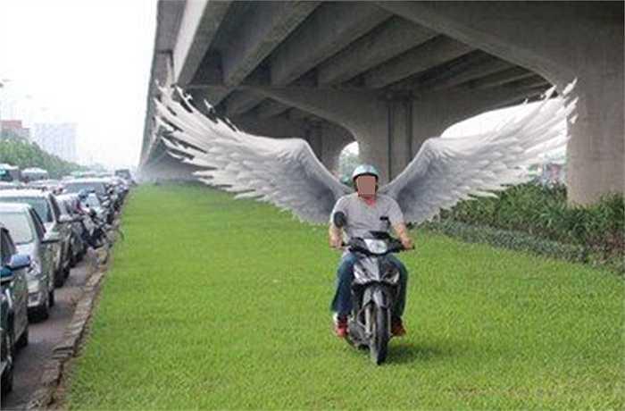 ... đến thiên thần có cánh (Ảnh: Otofun)