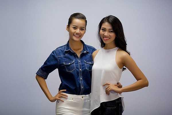 Top 5 Hoa hậu Hoàn vũ Việt Nam 2015 Ngô Trúc Linh, Top 10 Trần Kim Chi và hai người đẹp Hồng Y và Phương Trinh đã xuất hiện trong buổi casting của nhà thiết kế Vincent Đoàn để chuẩn bị cho show thời trang Vietnam International Fashion Week 2015  tới đây.