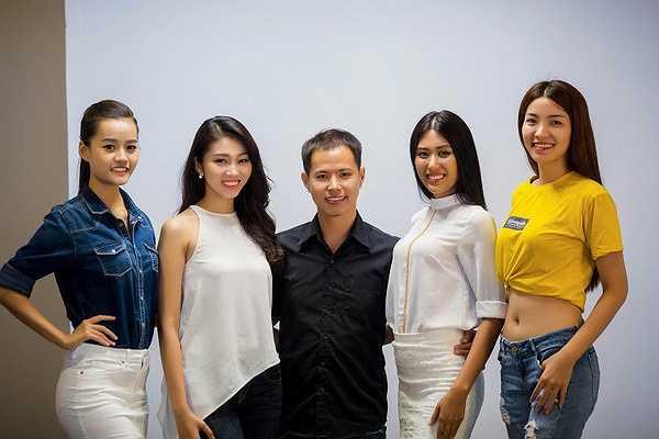 Hai người đẹp từng thi nhan sắc là á hậu Kim Nguyên (á hậu Biển xanh Toàn cầu 2015) và người đẹp Hà Chiêu (Hoa khôi áo dài) cũng góp mặt tại buổi casting.