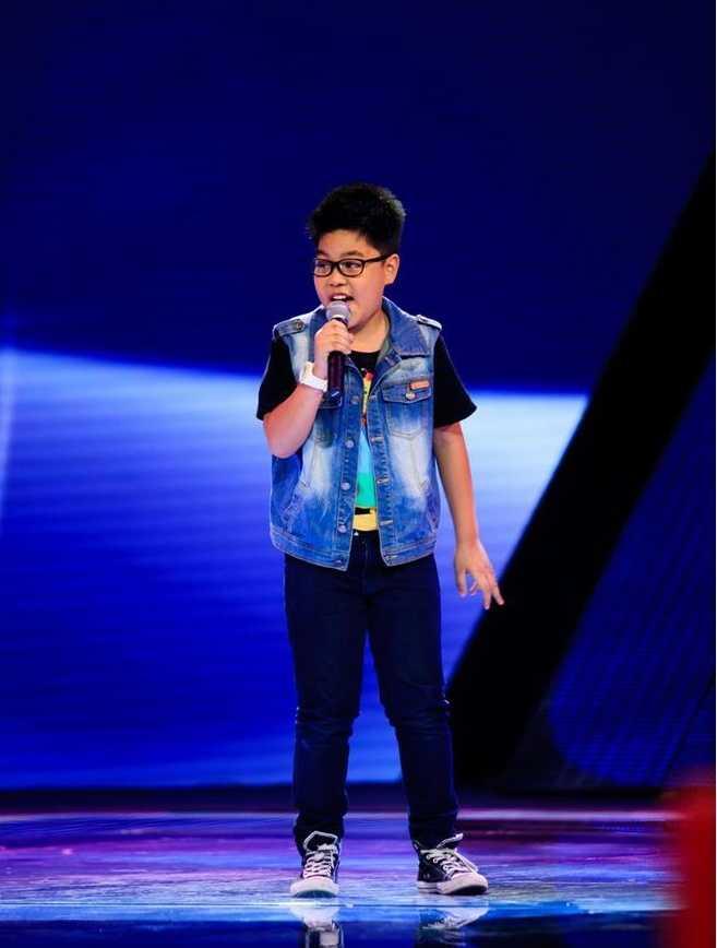 Nguyễn Trọng Tiến Quang The Voice Kids 2015