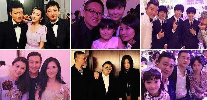Huỳnh Hiểu Minh hào phóng bao tiền vé máy bay và khách sạn cho các khách mời ở xa về dự đám cưới. Số lượng khách được bao trọn chi phí không dưới 500 người, nhiều người đã đáp chuyến bay đến Thượng Hải tối 7/10, trước đám cưới một ngày.