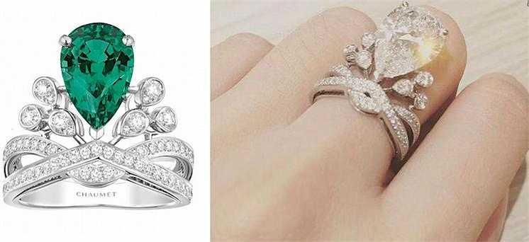 Trước lễ cưới 180 ngày, Huỳnh Hiểu Minh đã lên ý tưởng thiết kế tặng riêng Angelababy chiếc nhẫn cưới kim cương trị giá 5,8 triệu NDT (20 tỉ đồng).