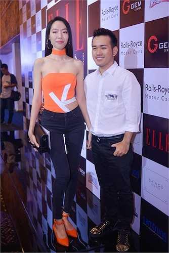 Lê Thanh Hoà và NTK Kim Khanh, người bạn thân của anh.