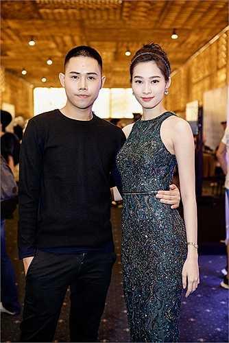 Hoa hậu Đặng Thu Thảo cũng tới chúc mừng NTK Lâm Gia Khang