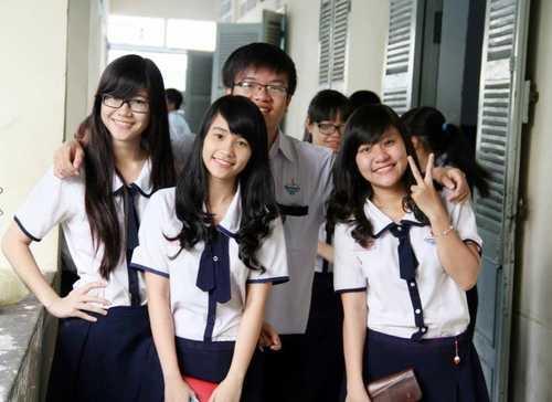 Học sinh tại TP.HCM