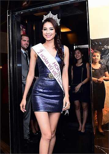 Trong sự kiện lần này còn có sự tham gia của Á hậu Dương Trương Thiên Lý, Hoàng My, Hoa hậu du lịch Ngọc Diễm.