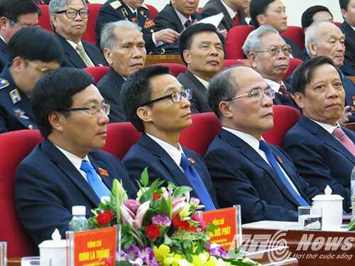 Lãnh đạo Quốc hội, Chính phủ về dự và chỉ đạo Đại hội