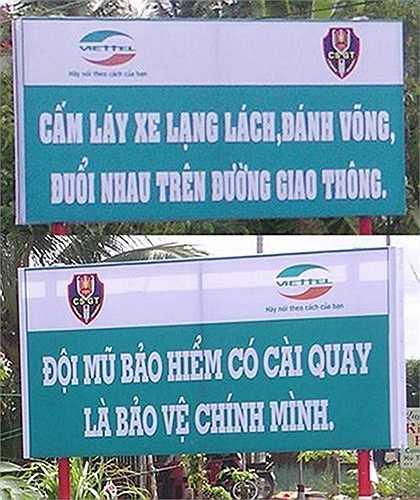 Một loạt lỗi chính tả khiến nội dung trên tấm biển thông báo trở nên hài hước.