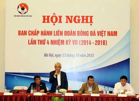 Chủ tịch VFF Lê Hùng Dũng.