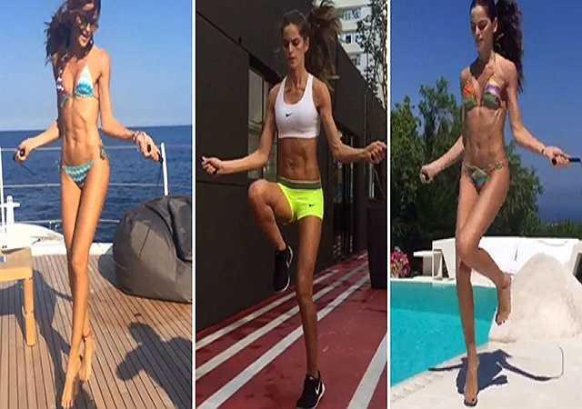 Nhảy dây. Nhiều người cho rằng nhảy dây là cách tốt để giảm lượng mỡ thừa trong cơ thể, một số thì lại cho rằng nhảy dây tốt cho bộ não. Nhưng theo Goulart, nhảy dây mang lại rất nhiều lợi ích, trong đó có việc đốt cháy hiệu quả lượng calo trong cơ thể.
