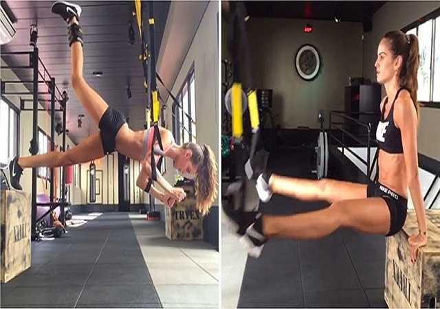 Tập TRX. Đây là một phương pháp tập luyện hiện đại, nó tận dụng chính sự đối trọng của trọng lượng cơ thể và trọng lực của người tập khi nâng trên sợi dây treo kháng lực TRX. Phương pháp này mang lại sức khỏe, sức bền và sự dẻo dai cho cơ thể.