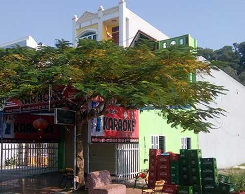 Quán Karaoke Gia Triệu nơi xảy ra vụ việc