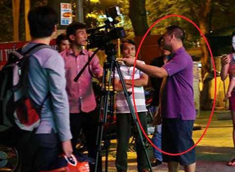 Vũ Trí Quyết đã có hành vi cản trở phóng viên tác nghiệp vào tối ngày 13/10