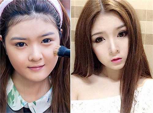 Lilly Luta từng được đặt biệt danh là 'búp bê Việt' với khuôn mặt bầu bĩnh, mũm mĩm. Tuy nhiên, sau đó, nhiều người không khỏi ngạc nhiên khi cô gái này công khai phẫu thuật thẩm mỹ để thay đổi diện mạo của mình.