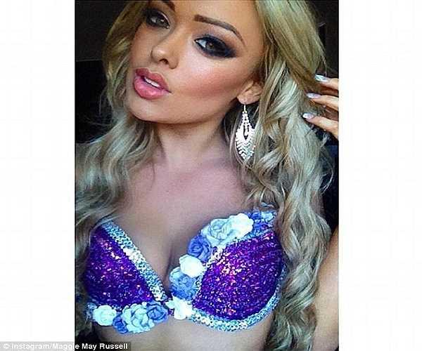 Sắp tới, cô cũng sẽ tranh tài tại cuộc thi 'World Beauty, Fitness and Fashion '.