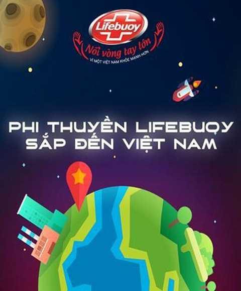 Trò chơi Biệt Đội Tay Sạch giải cứu Phi thuyền Nối vòng tay lớn Lifebuoy đã được hiện thức hóa vào ngày 17/10