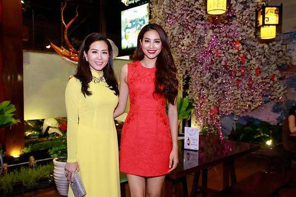 Hoa hậu Phạm Hương rất vui vẻ gửi lời cảm ơn tới gia đình, bạn bè, thầy cô... đã bên cạnh và hỗ trợ cô suốt thời gian qua