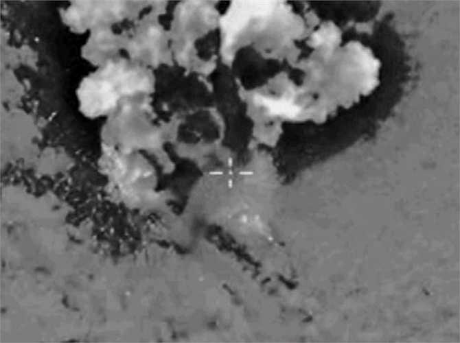 Các mục tiêu ở tỉnh Hama bị tấn công