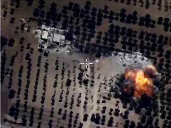 Cụm tên lửa phòng không của IS bị hạ