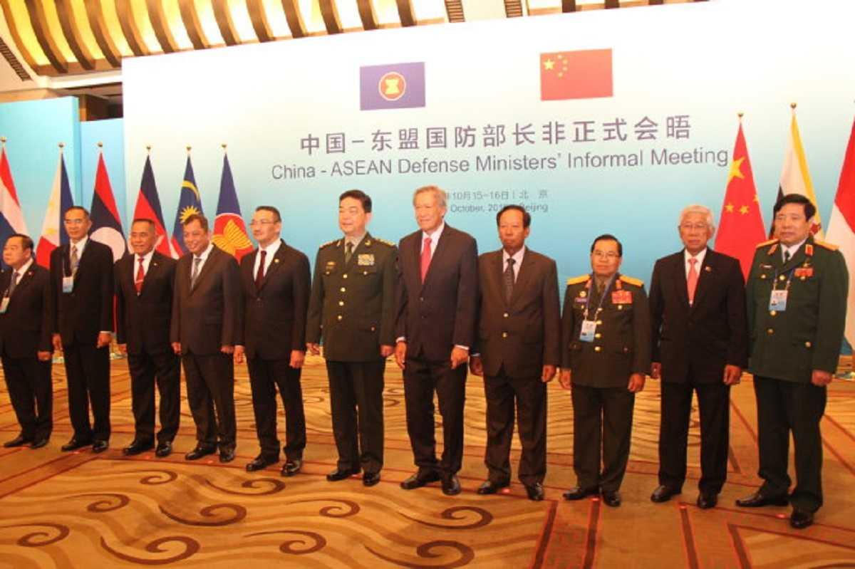 Bộ trưởng quốc phòng các nước tại cuộc gặp