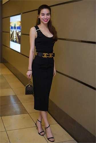 Hồ Ngọc Hà rất chuộng các thiết kế và phụ kiện từ thương hiệu Chanel đắt tiền