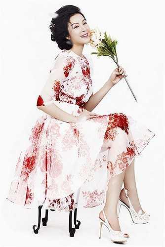 Dòng thời gian có trôi đi, Thanh Mai vẫn giữ nguyên nét đẹp mặn mà không tỳ vết.