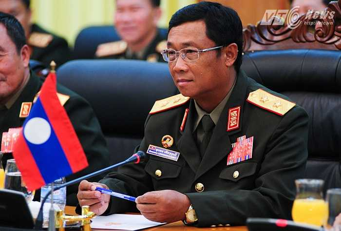 Trung tướng Suvon Luongbunmi, cảm ơn sự tiếp đón của Việt Nam