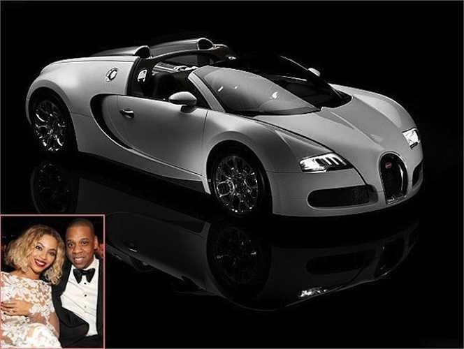 Beyonce mua tặng chồng Jay Z chiếc siêu xe Bugatti Veyron Grand Sport trị giá 2 triệu USD nhân dịp sinh nhật Jay Z.