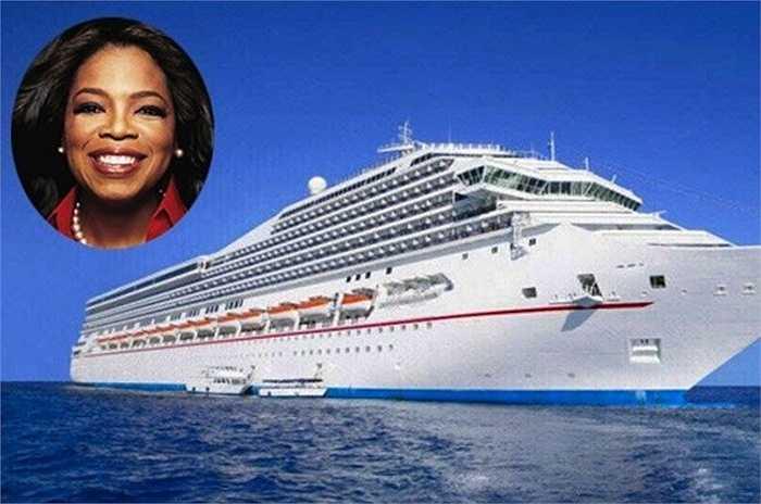 Oprah Winfrey hào phóng tặng cho 100 nhân viên của bà chuyến tham quan 10 ngày trên du thuyền sang trọng tới Địa trung hải trị giá 750 nghìn USD