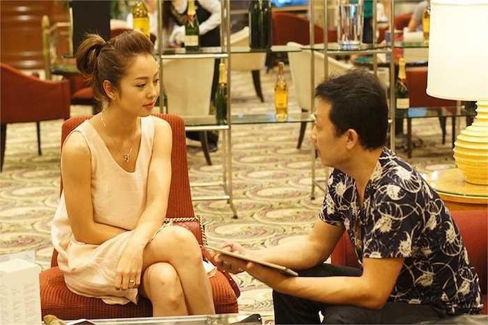 Lần này có vẻ họ cũng đang bàn bạc về một dự án mới của Vân Sơn tại TP. HCM