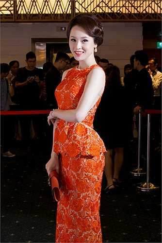Ngắm Thái Như Ngọc khoe vẻ quyến rũ tại đêm chung kết Tuần lễ thời trang Việt Nam quốc tế 2015.