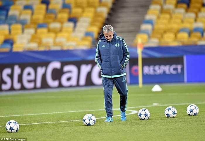 Ở chuyến làm khách gần nhất tại Champions League, Chelsea của Mourinho bị Porto đánh bại với tỷ số 2-1