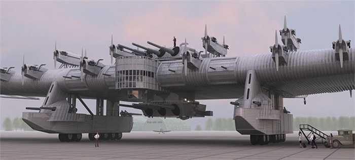 Những người yêu thích lịch sử quân sự đã cố gắng phục dựng lại mô hình máy bay này bằng các phần mềm thiết kế hiện đại