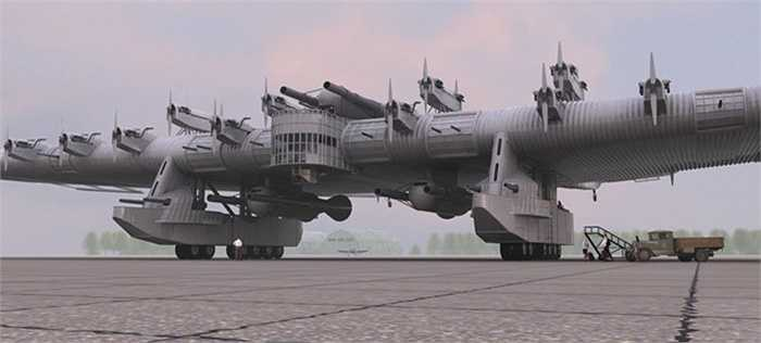 'Pháo đài bay' hoành tráng của quân đội Liên Xô cách đây gần 1 thế kỷ