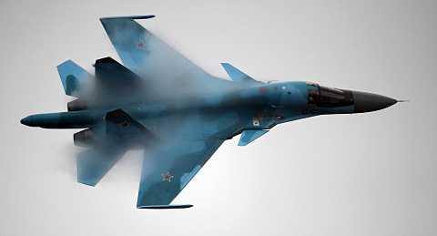 Chiến đấu cơ Su-34 của Nga tham gia không kích tiêu diệt IS