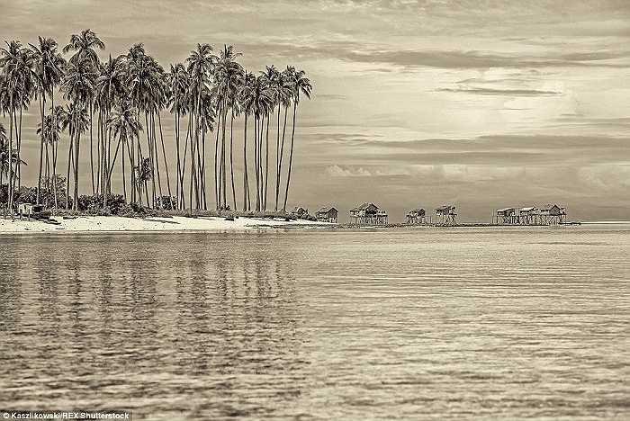 Một bức ảnh tuyệt đẹp về cuộc sống giản dị và yên bình của bộ lạc Badjao