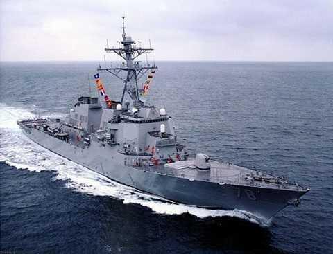 Tàu khu trục DDG-78 USS Porter của Hải quân Mỹ