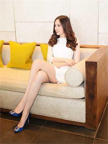 Hoa hậu Mai Phương Thuý vừa có mặt tại một sự kiện thời trang được tổ chức tại TP.HCM.