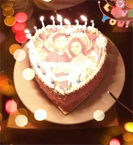 Ngày 17/4/2013, Midu lần đầu công khai chuyện tình cảm với Phan Thành trên cá nhân khi gửi lời chúc ngọt ngào tới bạn trai, kèm hình ảnh bánh sinh nhật in hình hai người.
