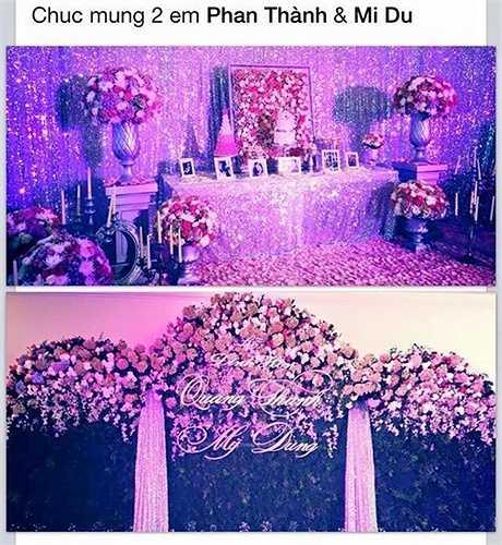 Cuối tháng 12/2014, Midu bí mật tổ chức lễ đính hôn với bạn trai lâu năm tại một địa điểm sang trọng của Tp HCM. Theo đó, tiệc đính hôn được trang hoàng bằng hoa tươi và chọn màu tím hồng là tông chủ đạo. Vì muốn giữ những giây phút riêng tư trong ngày trọng đại, Midu không thông báo tin vui với truyền thông và đông đảo bạn bè